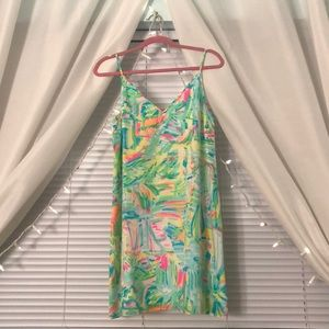 Lilly Pulitzer Dress Silk Slip